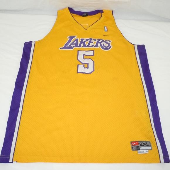9723ee5e Nike Shirts | Robert Horry Los Angeles Lakers Nba Jersey La | Poshmark